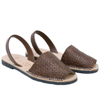Load image into Gallery viewer, Avarcas Menorcan Sandals Fornells | Mud