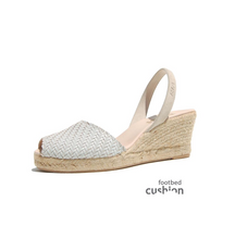 Load image into Gallery viewer, Ria Manorca Avarcas Wedge Espadrilles Morena
