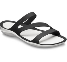 Load image into Gallery viewer, Swiftwater Sandal | Black/White