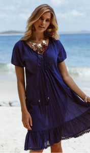 Monterey Dress | Navy