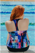 Load image into Gallery viewer, T-Back Tankini Top