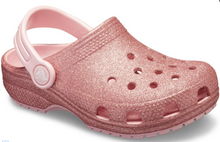 Load image into Gallery viewer, Crocs Australia Kids Classic Glitter Clog | Blossom | One Country Mouse Yamba
