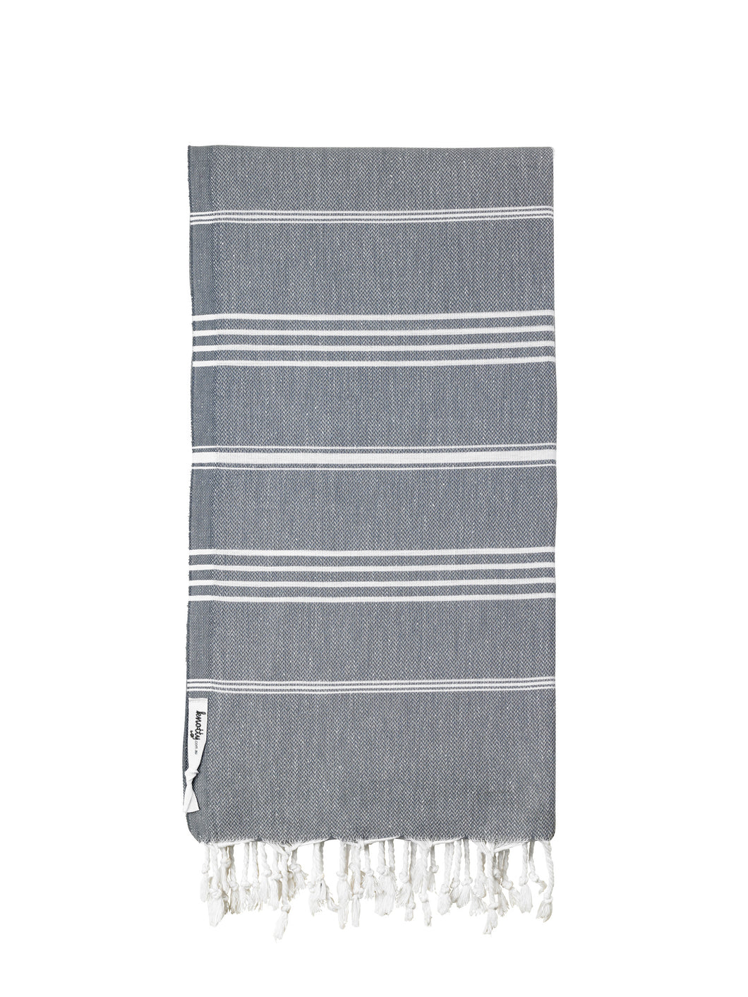 Knotty Original Turkish Towel | Charcoal