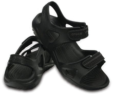 Load image into Gallery viewer, crocs Men's Swiftwater River Sandal | Black