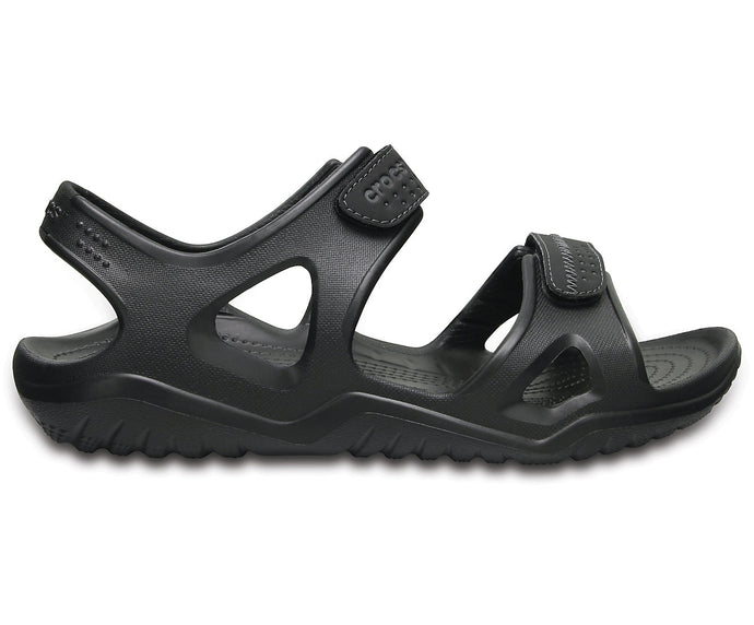 crocs Men's Swiftwater River Sandal | Black