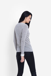 elk the label MERINO LONG SLEEVE TOP