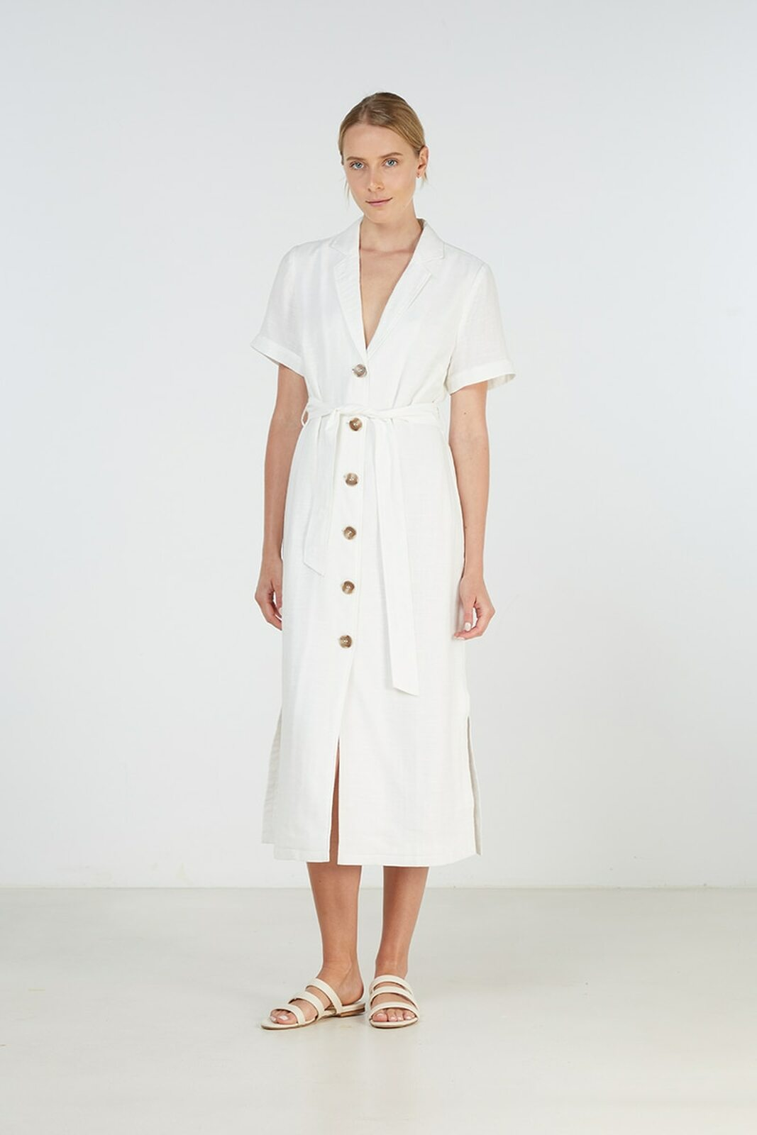 Annalie Dress | White