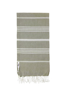 Knotty Original Turkish Towel | Khaki