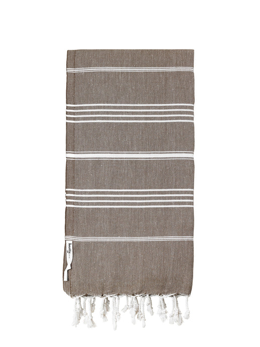 Knotty Original Turkish Towel | Mocha