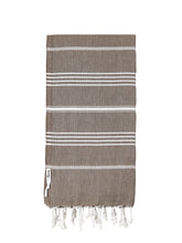 Load image into Gallery viewer, Knotty Original Turkish Towel | Mocha