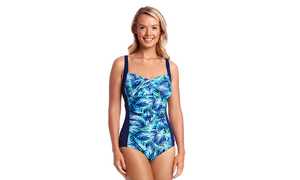 Rushed Panelled One Piece | Palm Beach