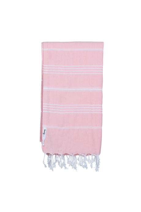 Knotty Original Turkish Towel | Rose Quartz