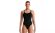 Load image into Gallery viewer, Diamond Back One Piece | Still Black Solid