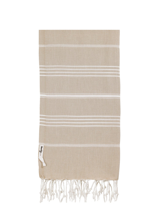 Knotty Original Turkish Towel | Taupe