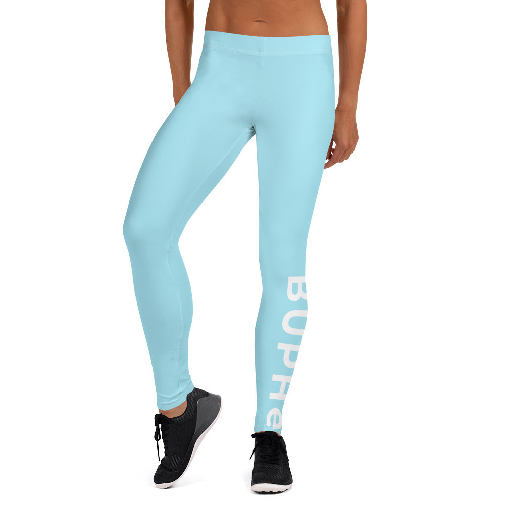 BUPHè Performance Leggings Blue