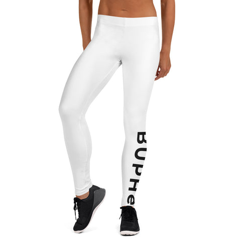 BUPHè Performance Leggings White