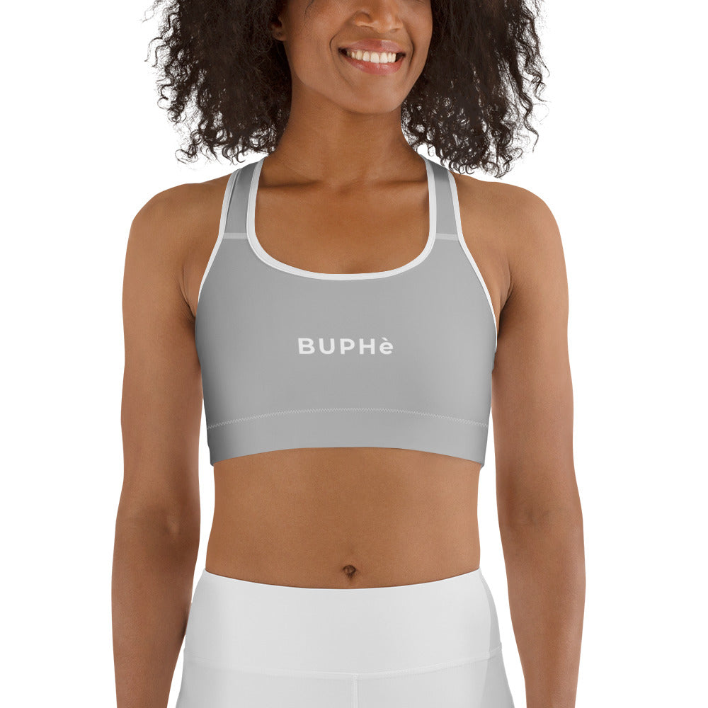 BUPHè Sports Bra Grey