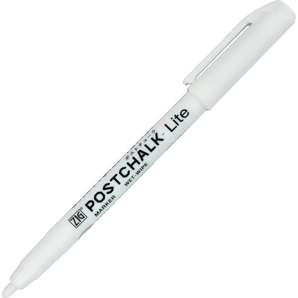 ZIG POSTCHALK MARKER WET-WIPE Lite ホワイト (POST-980A-000S)