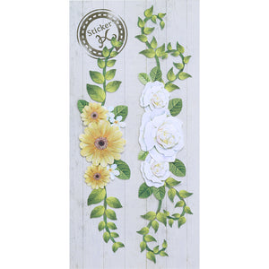 HANDMADE STICKER K FLOWER DECORATION (SBST501-6)