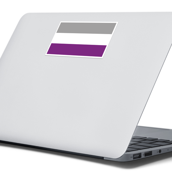 Asexual Pride Flag Sticker