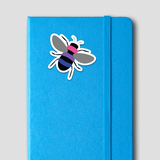 Bi Pride Bee Sticker
