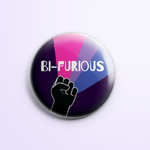 Bi-Furious Button (Fist)