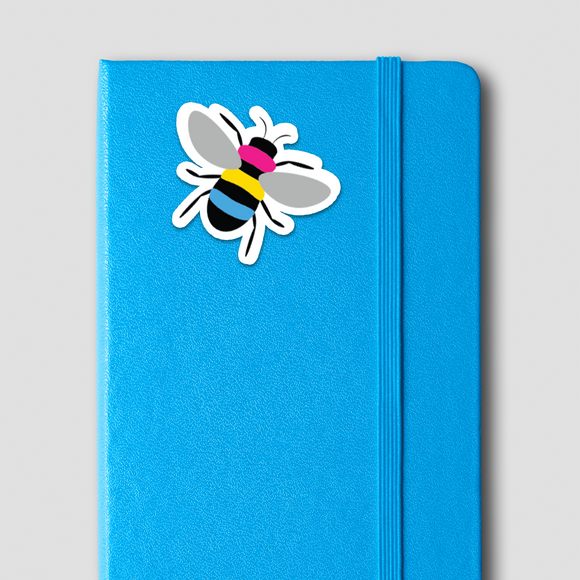 Pansexual Pride Bee Sticker