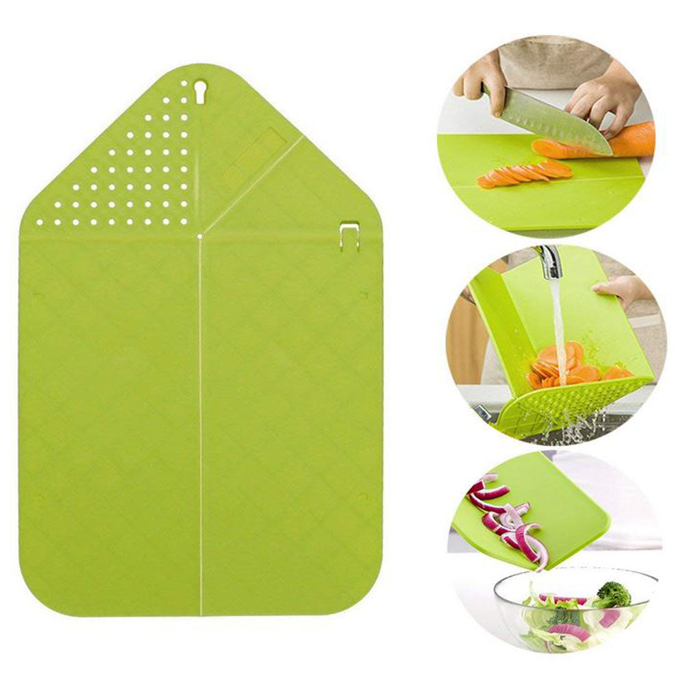2 in 1 Foldable Cutting Board
