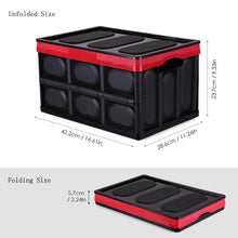 Load image into Gallery viewer, Foldable Crate Collapsible Stackable