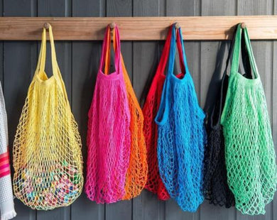 Reusable Shopping String Storage Mesh Bag