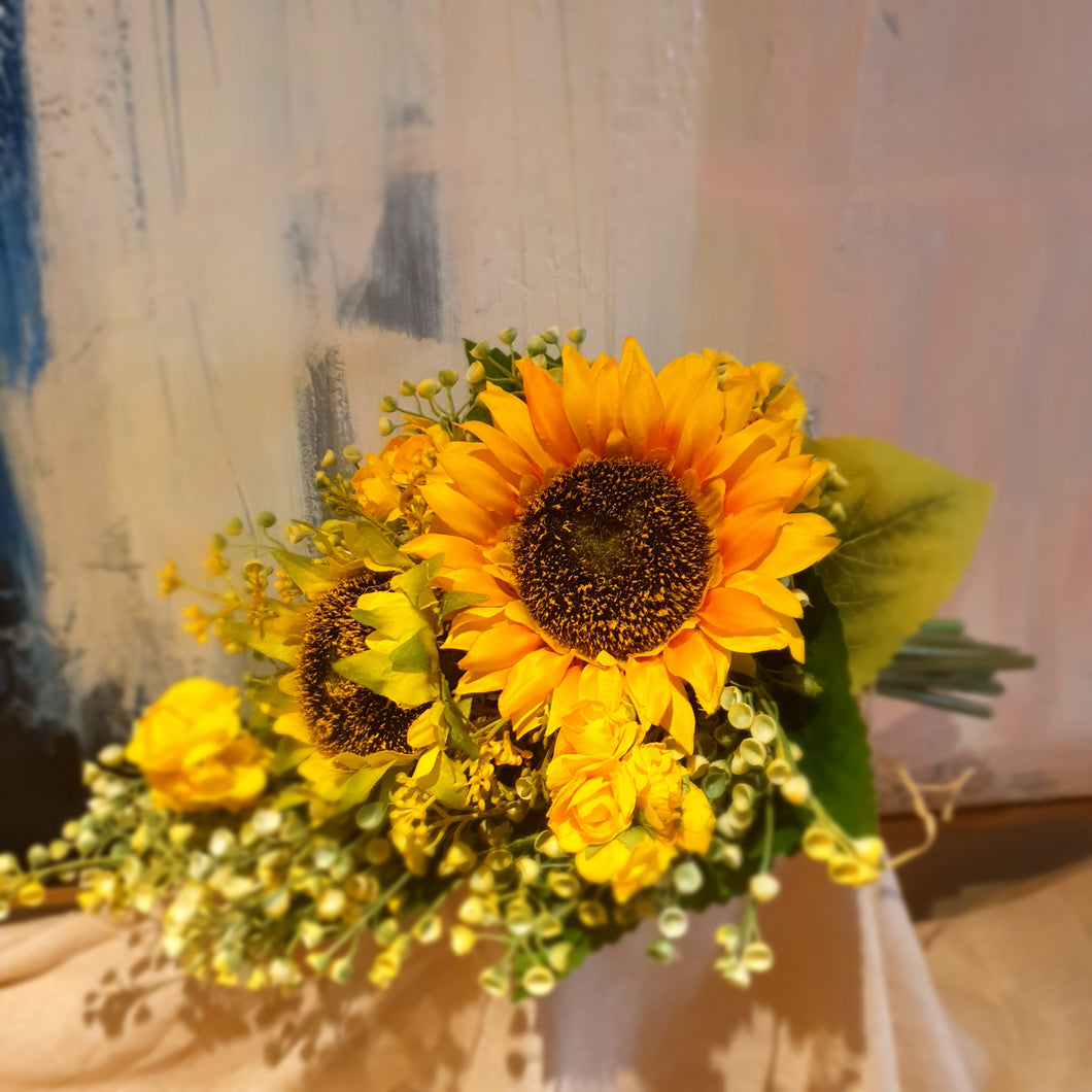 Sunny Sunflower and early cheer Bouquet