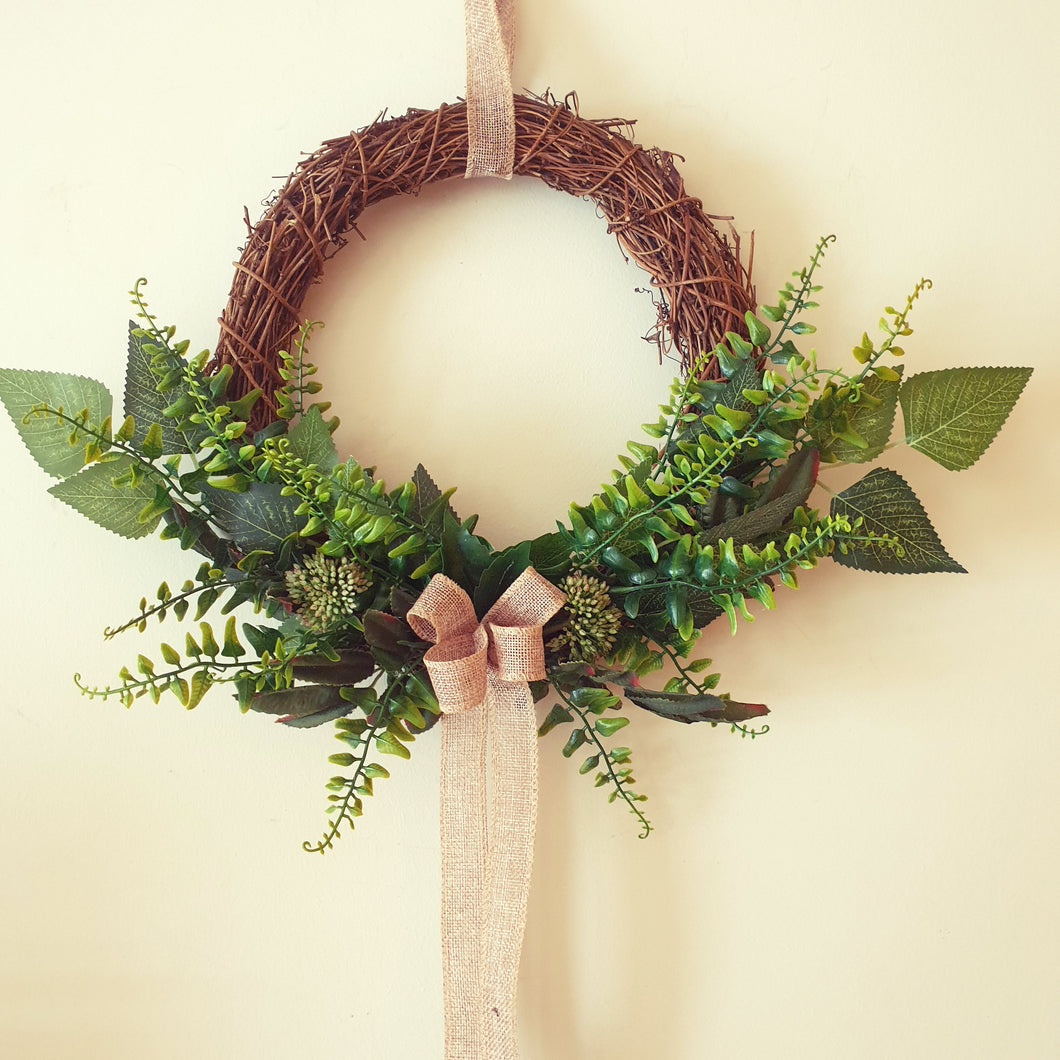 Mixed Foliage wreath - Budget Range Collection