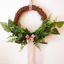 Load image into Gallery viewer, Mixed Foliage wreath - Budget Range Collection