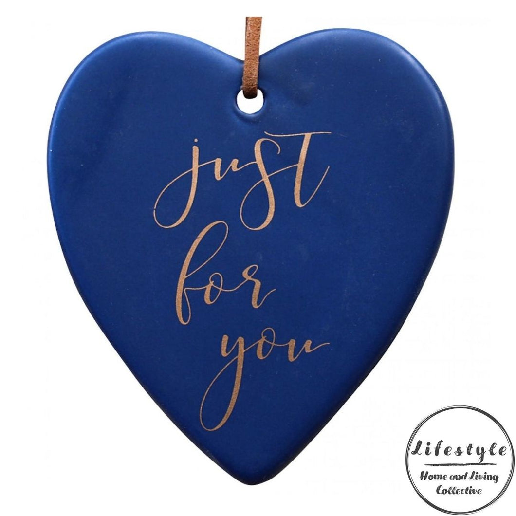 Just for you Ceramic Heart