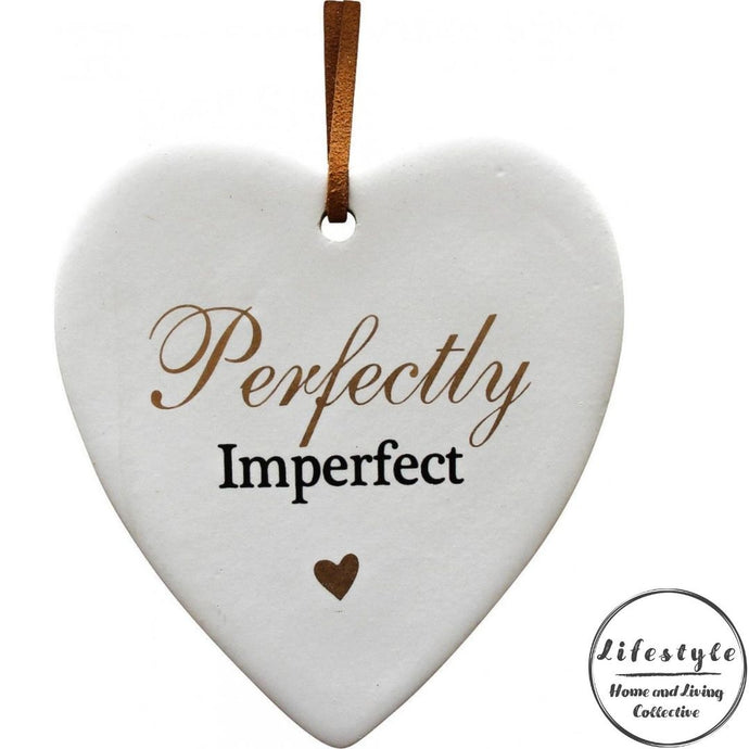 Perfectly Imperfect Ceramic Heart