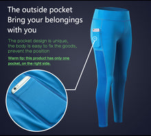 Load image into Gallery viewer, Yoga Pants with Smartphone Pocket