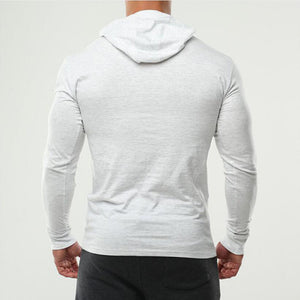 Hooded Slim Fit T Shirt