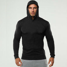 Load image into Gallery viewer, Hooded Slim Fit T Shirt