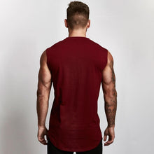 Load image into Gallery viewer, Men's Sleeveless Fitness Vest