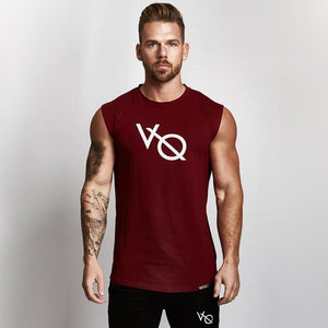 Men's Sleeveless Fitness Vest