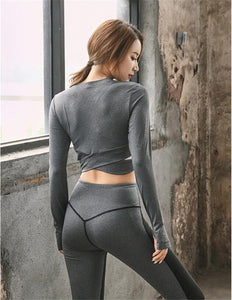 Fitness Jersey Seamless - Long Sleeve