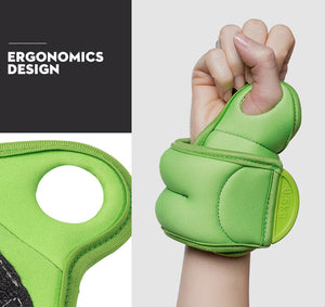 Wrist Weights with Thumb Straps