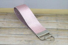 Load image into Gallery viewer, METALLIC PINK WRISTLET -  KEYCHAIN