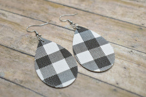 BLACK BUFFALO CHECK MOMMY AND ME SET