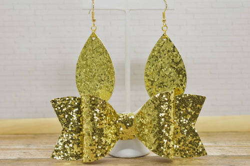 GOLD GLITTER MOMMY AND ME SET