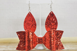 RED GLITTER MOMMY AND ME SET