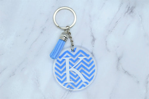 PERSONALIZED KEYCHAIN - VINYL PATTERN
