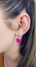 Load image into Gallery viewer, PINK RHINESTONE BUTTERFLY EARRINGS - Handmade Creations by Liz