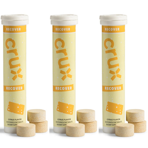 crux tablets, RECOVER, Three (3) Tubes