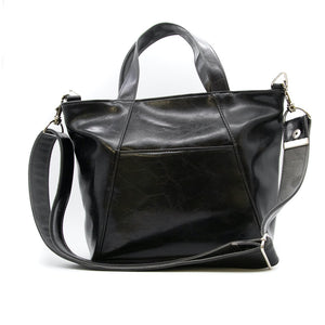 MINI TROUBADOUR TOTE - BLACK